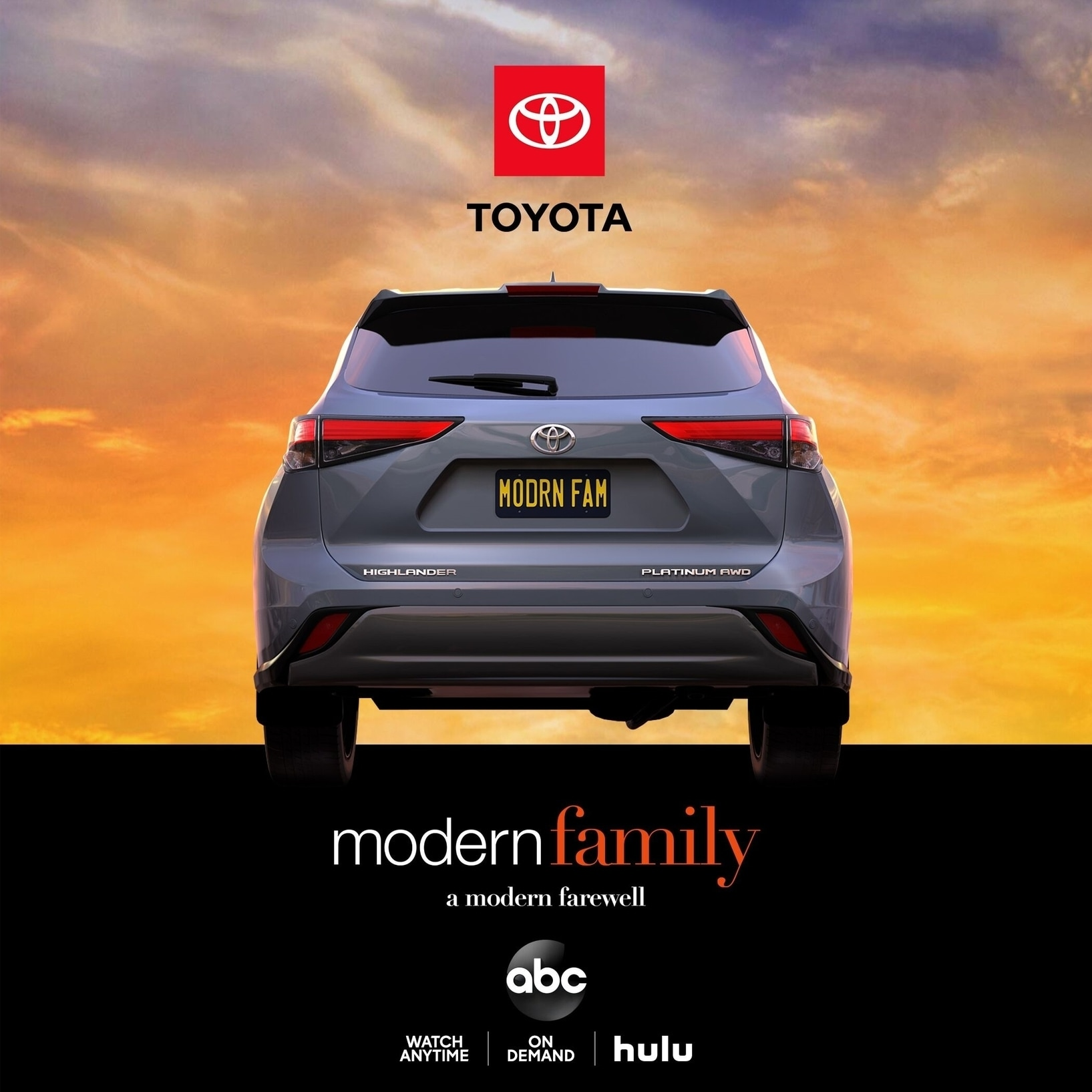"Toyota Celebrates ""Modern Family"" Series Finale with a Tribute Honoring the Iconic Sitcom"