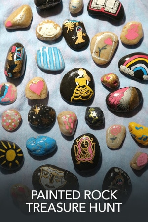 Painted Rock Treasure Hunt