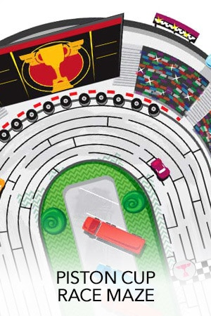 Disney. Pixar Cars 3 - Piston Cup Race Maze