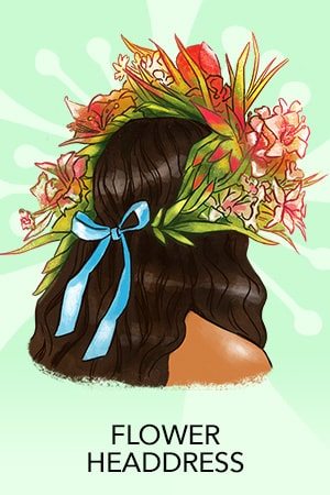 Moana Headress