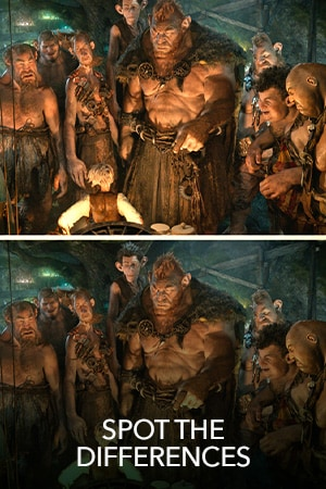 The BFG Spot the Differences