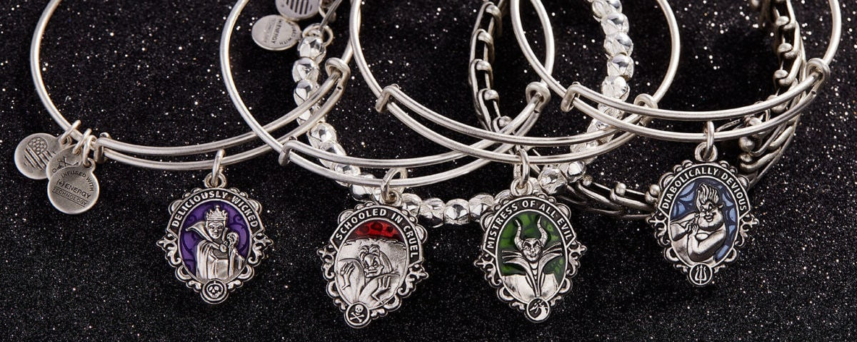 Bangles from the ALEX AND ANI Disney Villains Collection