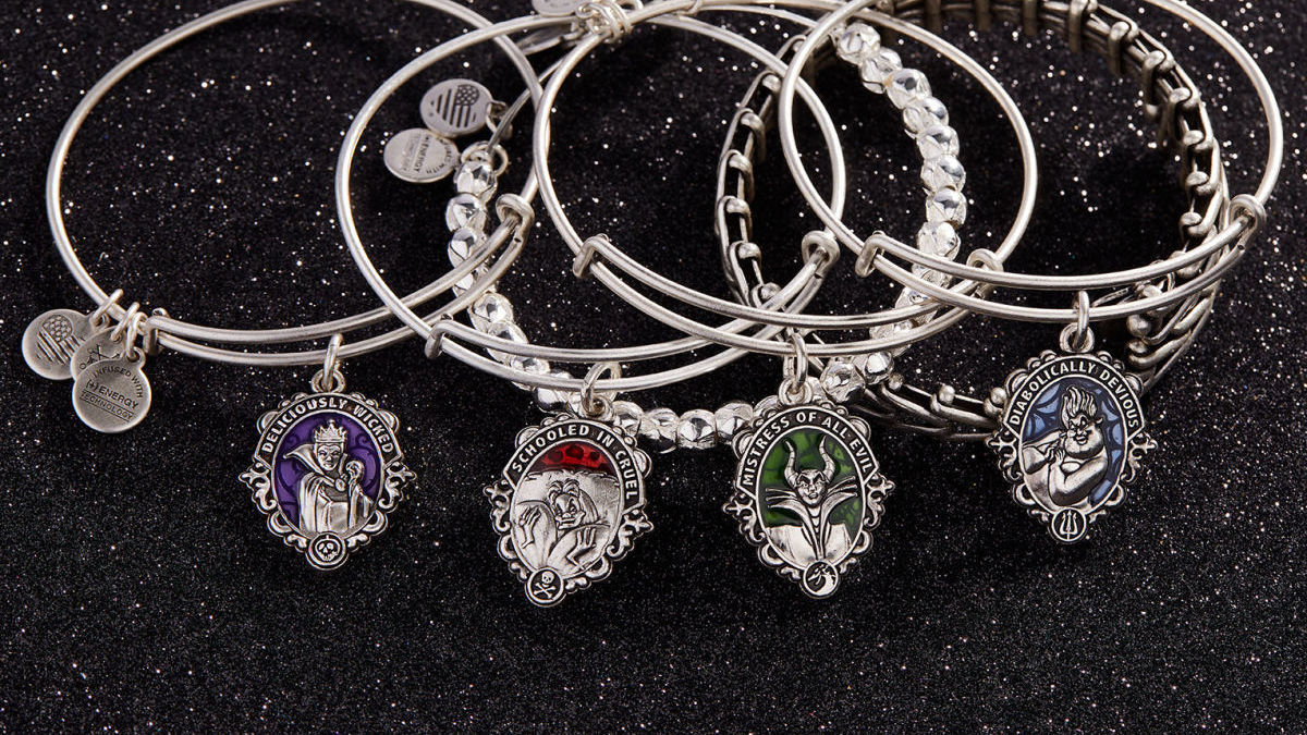 Disney Villains Get Charmed in New ALEX AND ANI Collection