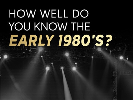 How well do you remember the early 80's?