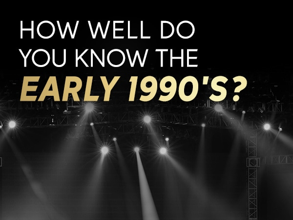 How well do you remember the early 90s?