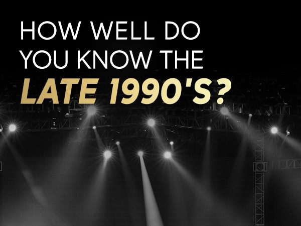 How Well Do You Remember The Late 90's?