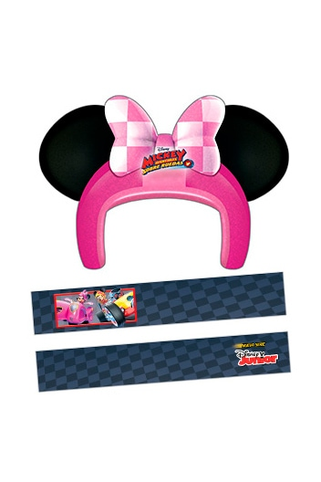 Casco de Minnie Mouse