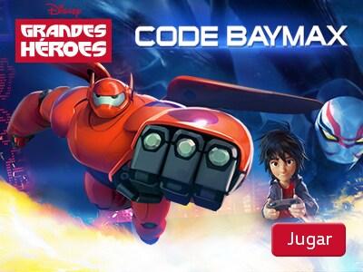 Grandes Héroes - Code Baymax