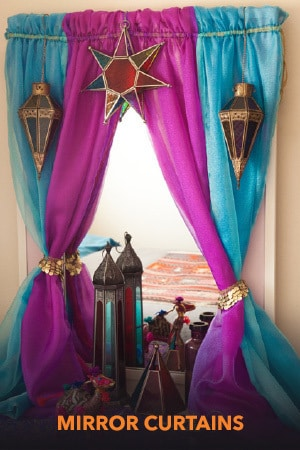 Princess Mirror Curtains