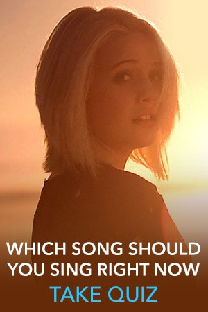 Bea Miller Slider Thumb - Which Song Should You Sing Right Now