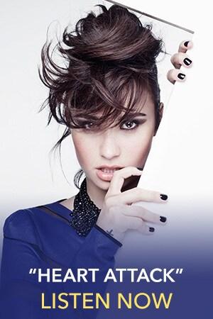 Demi Lovato Slider Thumb - Heart Attack