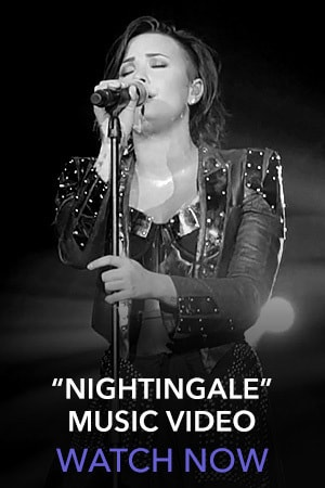 Demi Lovato Slider Thumb - Nightingale