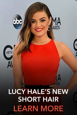Lucy Hale New Short Hair - Slider Thumb