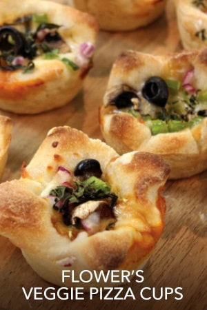 Bambi - Flower's Pizza Cups