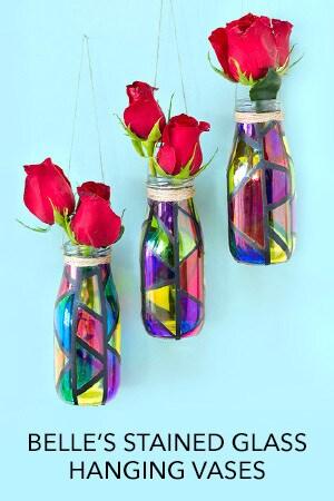 Belle's Hanging Vases