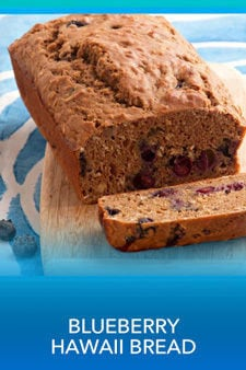 Blue(berry) Hawaii Bread