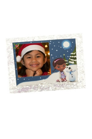 Doc McStuffins Holiday Card