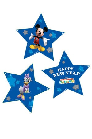 Mickey Mouse Clubhouse New Year Streamers