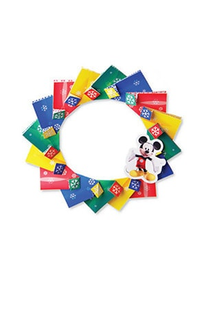 Mickey Mouse Clubhouse Christmas Wreath