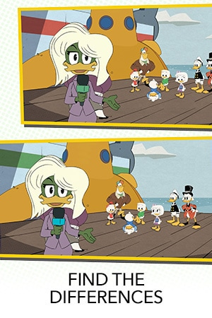 Ducktales Differences