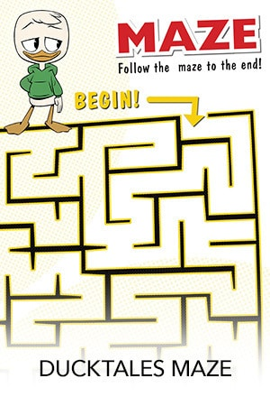 Ducktales Maze