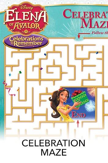 Elena of Avalor: Celebrations to Remember - Maze