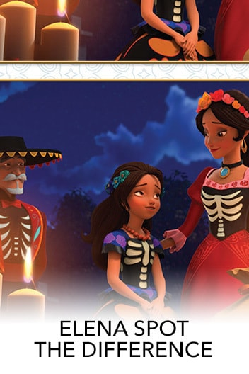 Elena of Avalor: Celebrations to Remember - Spot The Differences