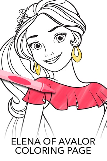 Secret of Avalor Coloring Page