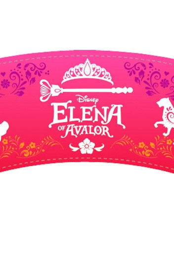 Elena of Avalor - Cup Wraps