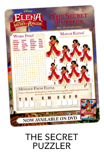 Elena of Avalor Puzzler