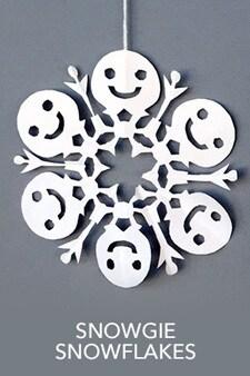 Snowgie Snowflakes