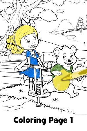 Goldie & Bear - Coloring