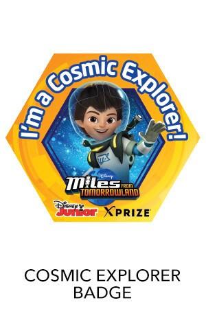 Cosmic Explorers Badge