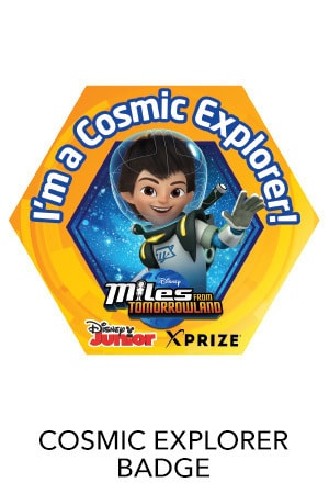 Cosmic Explorers Badge