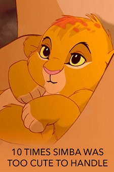 10 times Simba was too cute to handle