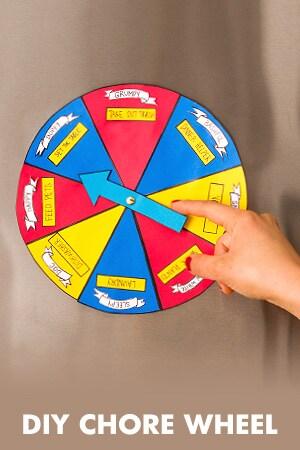 DIY Chore Wheel