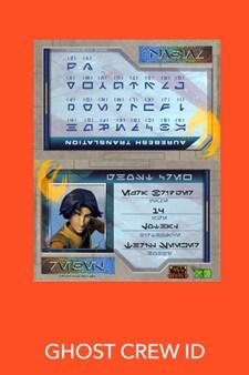 Ghost Crew ID Card