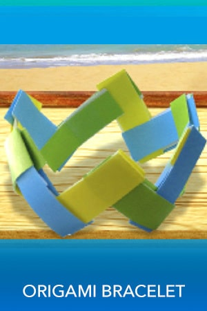 Teen Beach 2 - Origami Bracelet - Printable