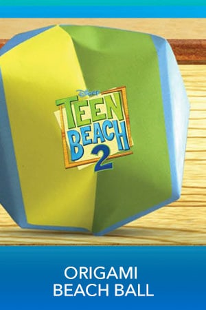 Teen Beach 2 - Origami Beach Ball - Printable