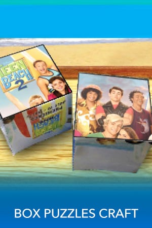 Teen Beach 2 - Box Puzzles - Printable