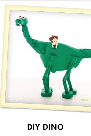 The Good Dinosaur - DIY Dino