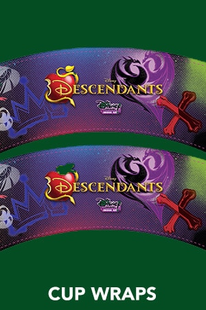 Descendants - Cup Wraps