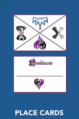 Descendants - Place Cards