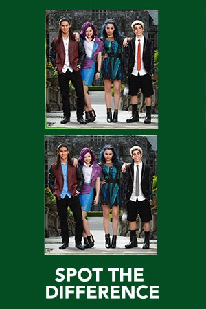 Descendants - Spot the Difference