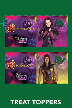 Descendants - Treat Toppers