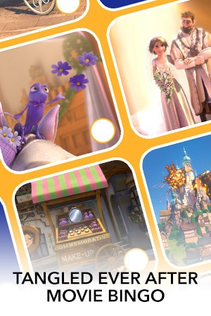 Tangled Ever After Bingo