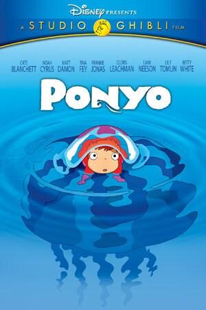 Ponyo Disney Movies