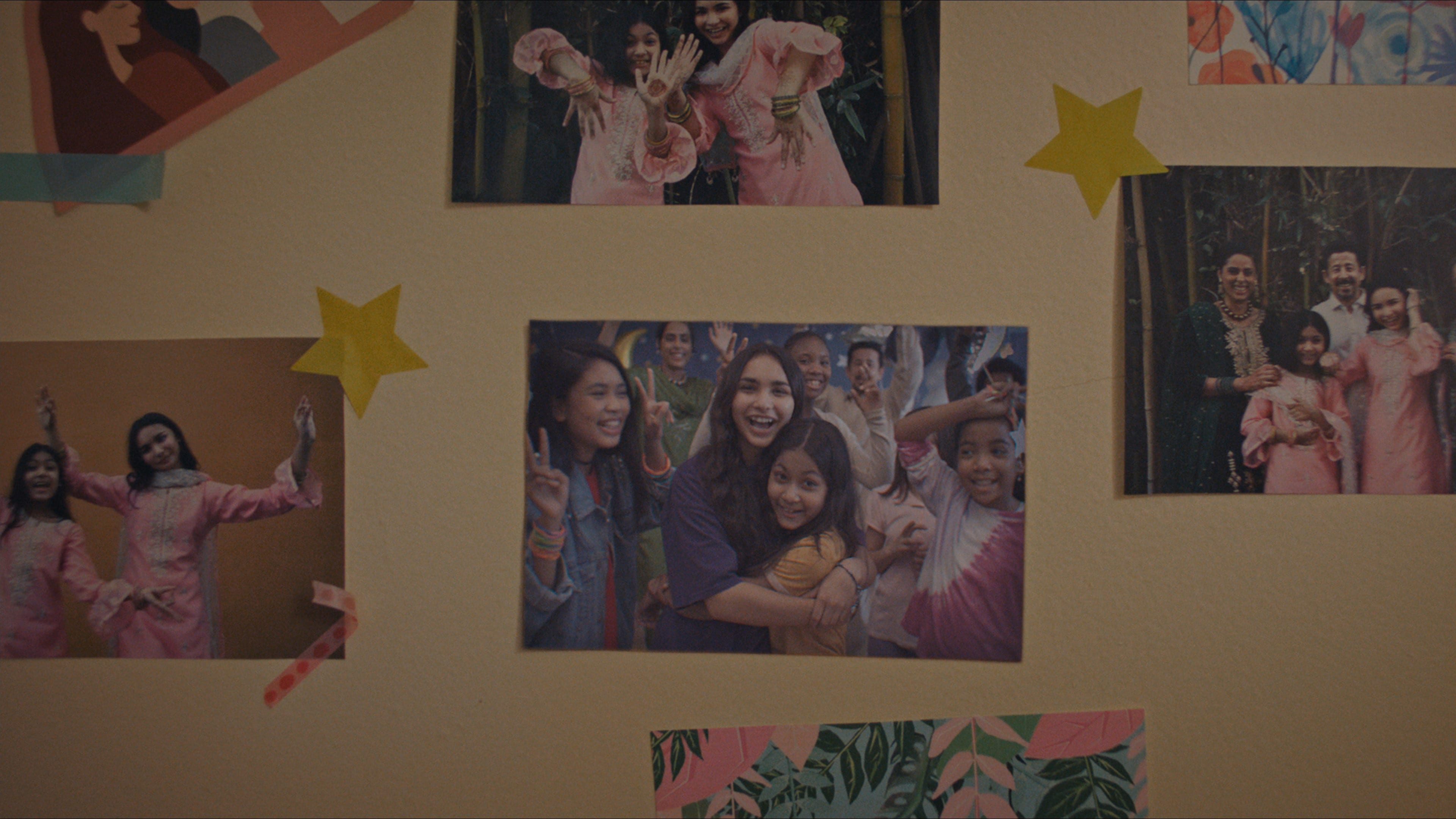 """Scene from Disney's """"LAUNCHPAD"""" Season One short, """"AMERICAN EID,"""" Written and Directed byAqsa Altaf.Photo courtesy of Disney. © 2021 Disney Enterprises, Inc. All Rights Reserved."""