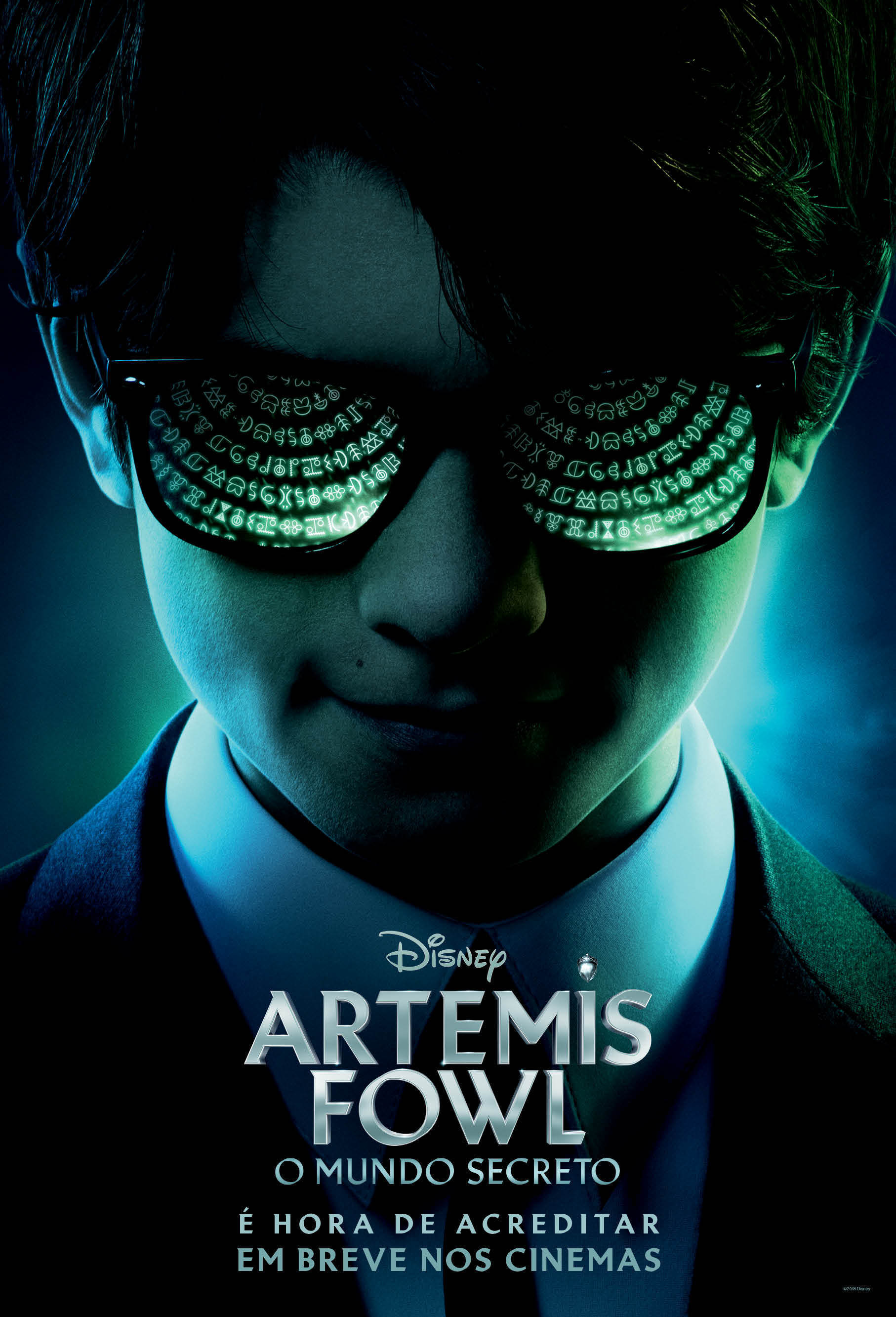 Artemis Fowl Poster featuring Artemis Fowl wearing sunglasses