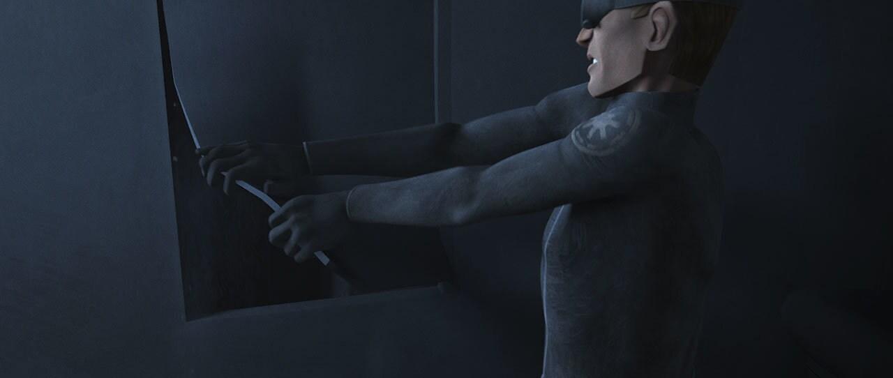Tech escaping his cell